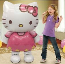 Hello Kitty Jumbo Inflatable Balloon 3.5 feet Tall Mylar