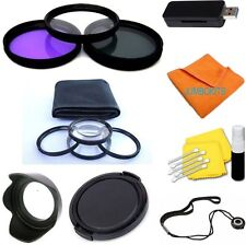 58MM Lens Filter & Close Up Macro Kit for Canon HS SX20 SX30 SX40 SX50 USA SELL