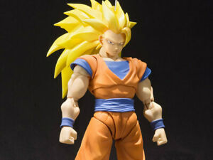 NEW! Bandai Tamashii Nations S.H. Figuarts Dragon Ball Z Super Saiyan 3 Son Goku