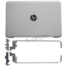 Top Cover For HP 15-AF 15-AC 250 255 256 G4 white LCD Back Cover &  Hinges