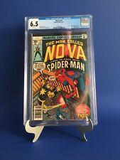 Nova #12 CGC 6.5 WP Marv Wolfman Story Amazing Spider-Man App 1977 Newly Graded!