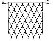 Lichtschläuche & -ketten mit 21-50 Lichtern 1m Länge Lichtquelle LED Überspannungsschutze der Lichtern