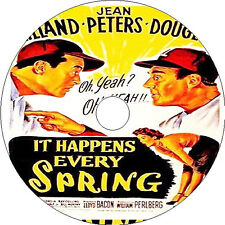 It Happens Every Spring _ Ray Milland Jean Peters Paul Douglas 1949 dvd v rare