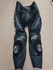 Alpinestars missile leather pants trousers