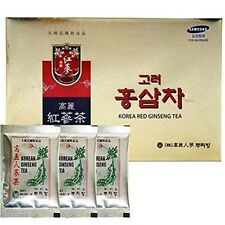 Original Korean Red Ginseng Tea 3g 100 Packets w/ Korean Ginseng Tea 3 Packets