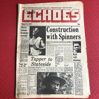 Black Echoes 12 March 1977 Stevie Wonder, Quincy Jones, Marcia Griffiths...