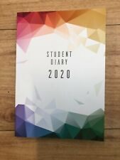 2020 COLLINS Colplan A5 Student Diary Planner Week To View Case Bound WTV SC37