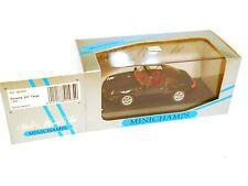 PORSCHE 911 (993) TARGA 1995 Nero Nero Noir Black, Minichamps in 1:43 Boxed!