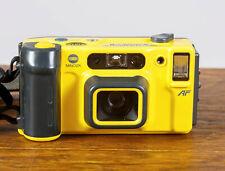 Minolta Weathermatic Dual 35mm Underwater Film Camera w/original strap. Tested!