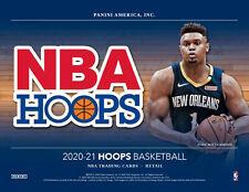 2020/21 Hoops Basketball Blaster Box 1 Auto or Mem- Presell-Ships Mid-Late Feb