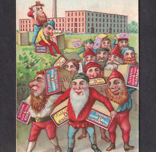 Des Moines IA Sleepers Crescent Gloss Corn Starch Elf Factory Gnome Trade Card