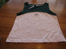 Womens Diadora Training shirt Tennis green & white ladies NEW XS NWT^^