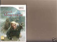 CURSED MOUNTAIN NINTENDO WII NEW SEALED HORROR SCARY