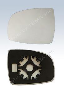 Specchio retrovisore NISSAN Note - piastra aggancio+vetro sinistro