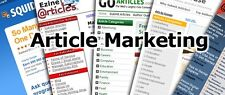 Build An Income Using Article Marketing -Video Tutorials on 1 Cd