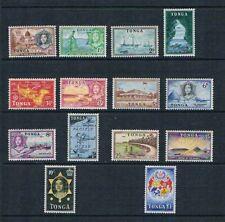Tonga 1953 Queen Salote & Scenes of Tonga - SC 100-113 [SG 101-114] Mint VLH 21R