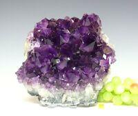 Superb Amethyst Quartz Crystal Cluster Geode - Natural Raw Mineral Healing 3338g