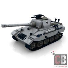 CUSTOM PDF Instructions WW2 WWII Tank PANTHER for LEGO® Bricks