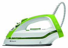 Hotpoint SI C35 CKG Steam Iron with Curved Spoleplate, 0.3 Litre, 2400 W, Lime