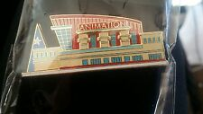 Walt Disney Animation Building Pin 2002 Le Art Classics Convention Rare New Card