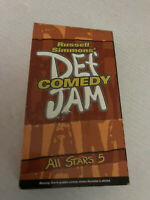 DEF COMEDY ALL STARS 5,  JAMIE FOXX, MARTIN LAWRENCE, CRIS TUCKER AND MORE, VHS