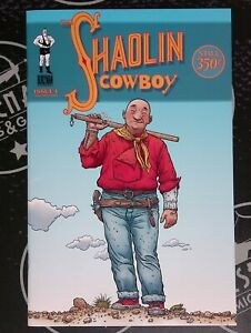 Shaolin Cowboy #1 1st Print 2004 1st Series Burlyman Geof Darrow Wachowskis