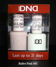 DND Daisy Ballet Pink 601 Soak Off DND Gel Polish .5oz LED/UV gel duo DND 601