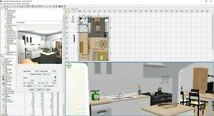 3D Home design suite Pro - design floor plans layouts - Pro room planner deisgn