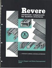 Brochure - Revere - Aluminum Components for Structures - 1960 - Catalog (AF116)