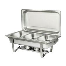 3 L / 3.2 Quart Full Buffet Catering Stainless Steel Chafer Chafing Dish Sets