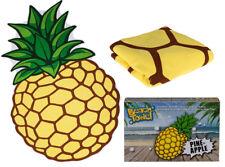 Nouveauté grand Ananas Fruit en forme de plage bain natation doux Serviette de nouveau dans boîte cadeau