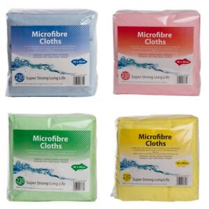 PROFESSIONAL LARGE MICROFIBRE CLOTHS CAR CLEANING DETAILING SOFT DUSTER TOWEL