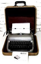 Vintage Optima Elite 3 Portable Typewriter - FREE Shipping [PL4187]