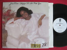 JEAN CARN - HAPPY TO BE WITH YOU - PHILADELPHIA PROMO LP SOUL DISCO FUNK EX/VG+