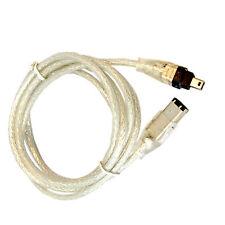 HQRP FireWire 4-6 Pin Cable for Sony DCR-TRV38 DCR-TRV350 DCR-TRV360 DCR-TRV950
