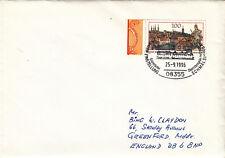 (07676) Germany Cover Trains Rittersgrun 25 September 1996