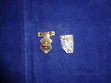 Vintage Brass  Box Latch Set with Screws, Style 3, New Old Stock