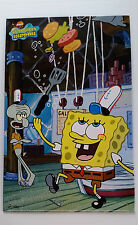 SPONGEBOB SQUAREPANTS Kids Decor Tin Sign - Poster.  Crabby Patty 2003