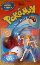 Vintage 90s MISTY pokemon figure 1998 Nintendo anime Hasbro action NIB CIB