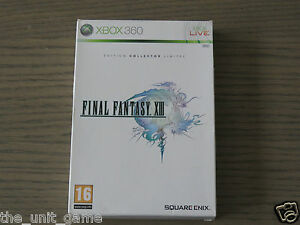 JEU XBOX 360   FINAL FANTASY XIII EDITION COLLECTOR LIMITEE  EN FRANCAIS