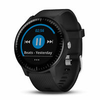 Garmin vivoactive 3 Music Wi-Fi GPS Smartwatch Black with Black Band