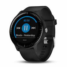 Garmin vivoactive 3 Music Wi-Fi GPS Smartwatch Black with Black Band