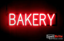 SpellBrite Ultra-Bright BAKERY Sign Neon-LED Sign Neon look, LED performance