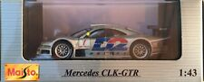 33- Mercedes CLK-GTR - MAISTO - 1:43- Neuf dans boite d'origine