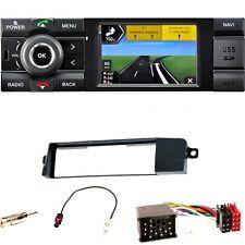 Kienzle MCR 1031 NAV DAB+ Navigation USB AUX Einbauset für BMW 3er E46