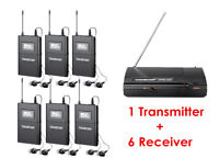Takstar WPM-200 Wireless Monitor System 1 Transmitter+6 Receivers  In-Ear Stage