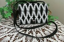 Thirty One Double Up Cross body Purse - Black & White  CONVERTIBLE-organizer-new
