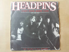 "HEADPINS ""JUST ONE MORE TIME"" RARE SPANISH 7"" VINYL / MACLEOD"