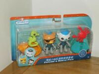 Fisher Price - Octonauts Explore & Rescue Pack - BRAND NEW