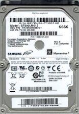 Samsung ST500LM012 HN-M500MBB/M1 P/N: F4592-G12A-A2W80 F/W: 2AR20002